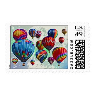 Hot Air Balloons Stamp