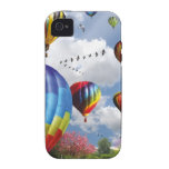 Hot Air Balloons Vibe iPhone 4 Hoesje