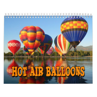 Hot Air Balloons Wall Calendar