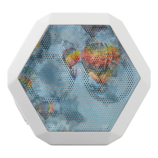 Hot Air Balloons White Bluetooth Speaker