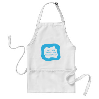 Hot air feeds the balloonist .png adult apron