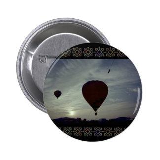 Hot Air Launch 2 Inch Round Button
