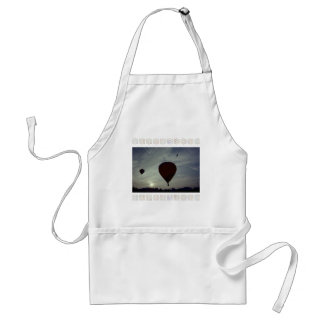 Hot Air Launch Adult Apron