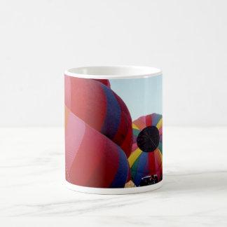 Hot Air Launch 11 Oz Magic Heat Color-Changing Coffee Mug