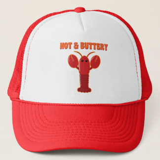 Hot and Buttery Lobster Trucker Hat