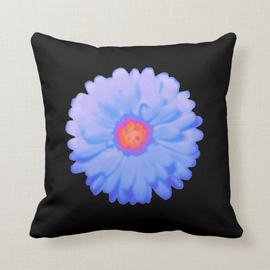 Hot and Cold Marigold Pillow