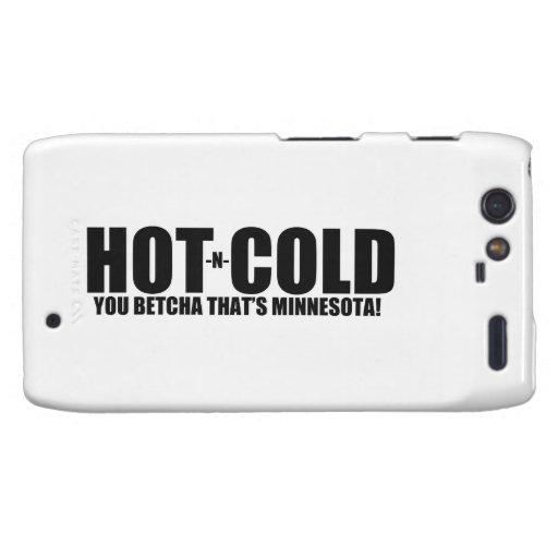 Hot and Cold MN Weather Droid RAZR Case