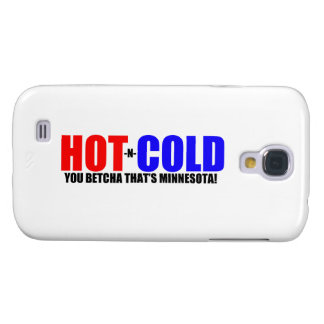 Hot and Cold MN Weather Galaxy S4 Case