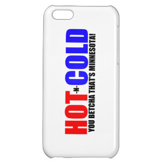 Hot and Cold MN Weather iPhone 5C Case