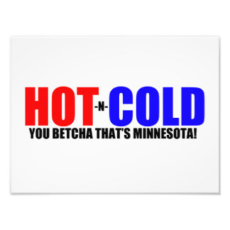 Hot and Cold MN Weather Photograph