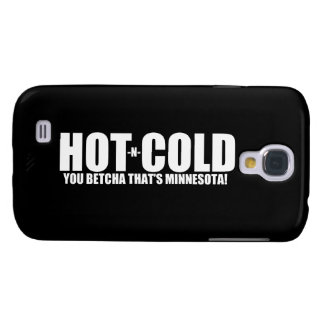 Hot and Cold MN Weather Samsung Galaxy S4 Cover