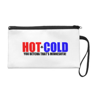 Hot and Cold MN Weather Wristlet Purse