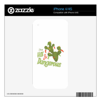 Hot And Dangerous Decal For The iPhone 4S