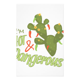 Hot And Dangerous Stationery