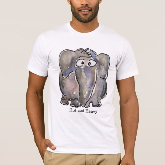 Sexy Elephant Cartoon Hot and Heavy C...