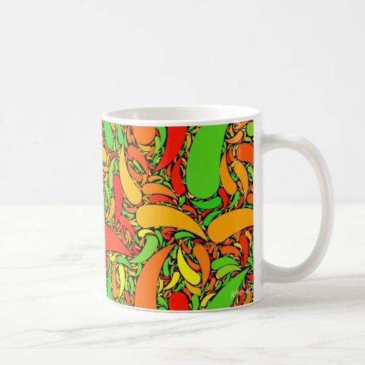 hot and peppery classic white coffee mug