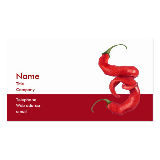 Hot and Spicy Business Card