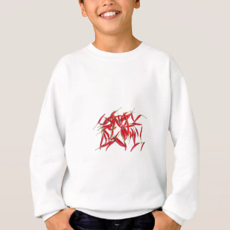 Hot and spicy chillies sweatshirt