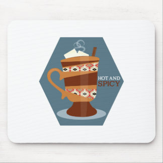 Hot And Spicy Drink Mousepads