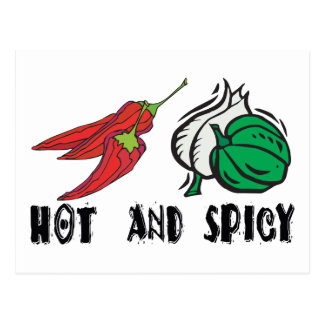 Hot And Spicy Postcard