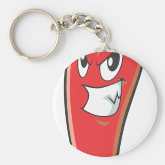 Hot and Spicy Red Chili Pepper Keychain