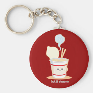 Hot and Steamy Keychain