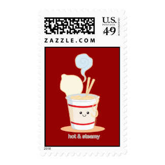 Hot and Steamy Postage Stamp