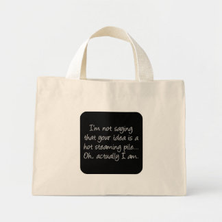 Hot and Steamy (sq) Canvas Bag