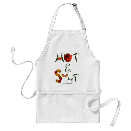 Hot and Sweet Adult Apron