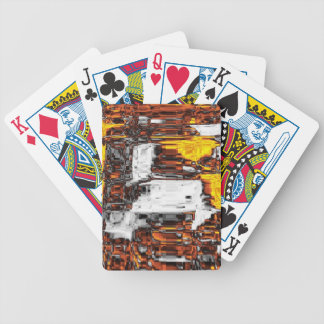 hot and wild, fire bicycle poker cards
