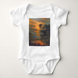 Hot August Firesky Baby Bodysuit