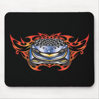 Hot Auto Racing Mouse Pad