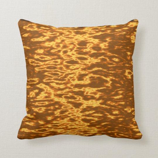 Hot Autumn Soup Throw Pillow