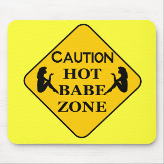 HOT BABE ZONE MOUSE PAD
