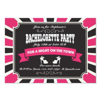 Hot Bachelorette Party Invitation