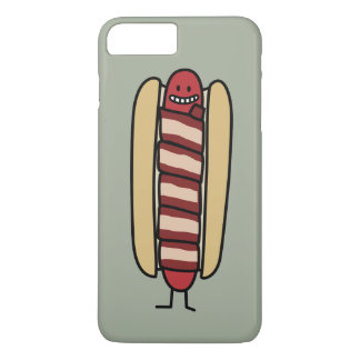 Hot Bacon Wrapped Hotdog iPhone 8 Plus/7 Plus Case
