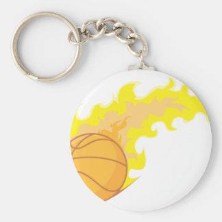 Hot Basketball Keychain