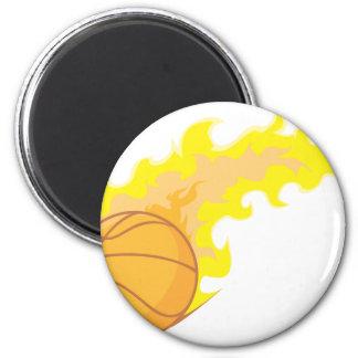 Hot Basketball Magnet