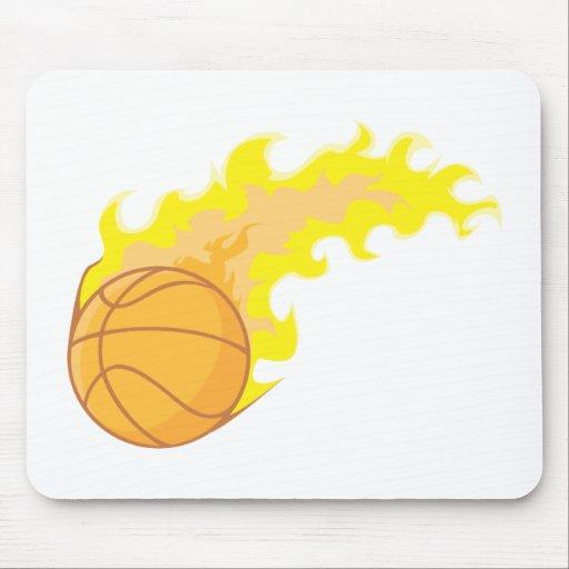 Hot Basketball Mouse Pad