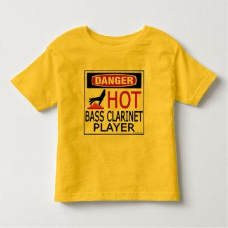 Hot Bass Clarinet Player Toddler T-shirt