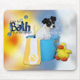 Hot Bath - Rat Terrier - Rosco Mouse Pad