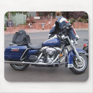 Hot bike, on a hot day, in Sedona Arizona, ride th Mouse Pad