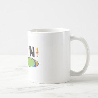 hot bikini girl coffee mug