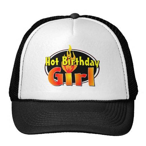 Hot Birthday Girl Trucker Hat