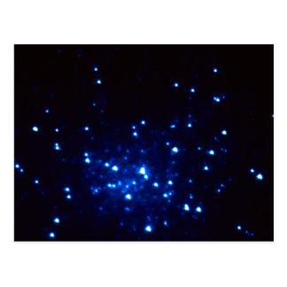 Hot Blue Stars at the Core of Globular Cluster M15 Postcard