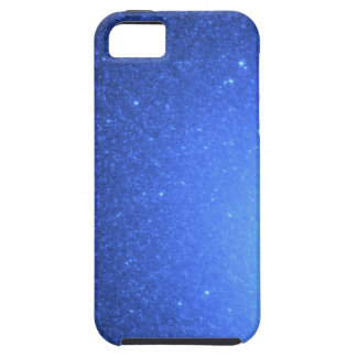 Hot Blue Stars Resemble a Blizzard of Snowflakes iPhone SE/5/5s Case