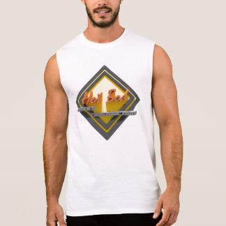 Hot Bod Under Construction Cotton Sleeveless T Sleeveless Shirt