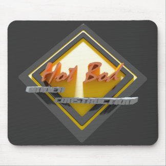 Hot bod Under Construction Mouse Pad
