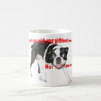Hot Boston Terrier Coffee Mug