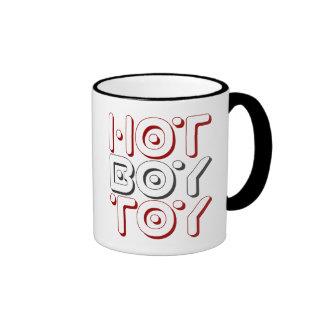 HOT BOY TOY - I Date Cougars & Sugar Daddies, Red Ringer Mug